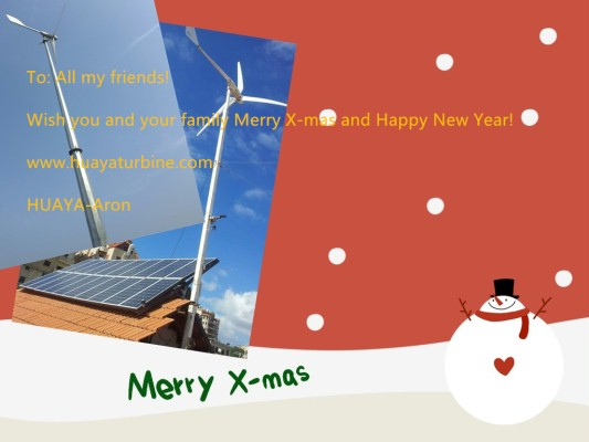 Merry X-mas and Happy New Year to All the customers! -Company news